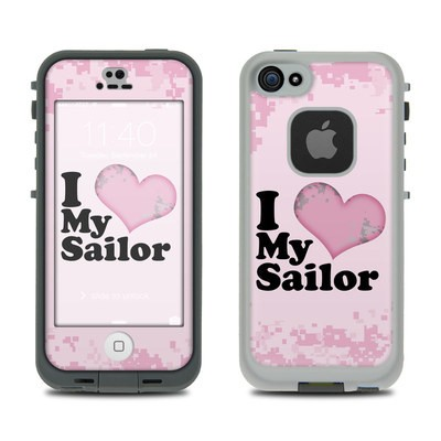 LifeProof iPhone 5S Fre Case Skin - I Love My Sailor