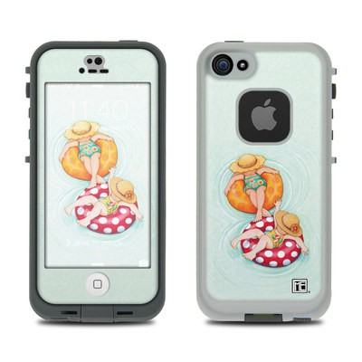 Lifeproof iPhone 5S Fre Case Skin - Inner Tube Girls