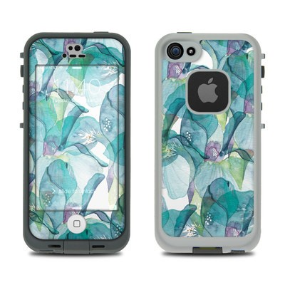 Lifeproof iPhone 5S Fre Case Skin - Iris Petals
