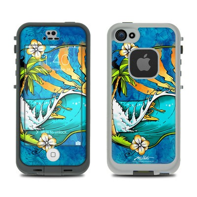 LifeProof iPhone 5S Fre Case Skin - Island Playground