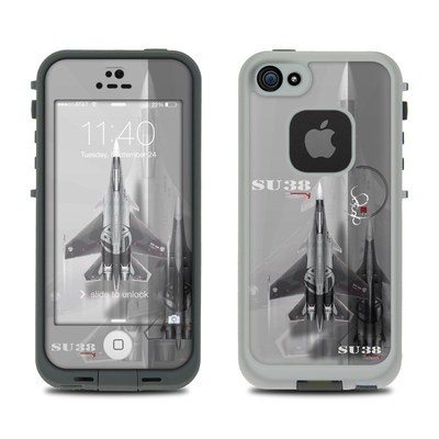 LifeProof iPhone 5S Fre Case Skin - Jet Fighter