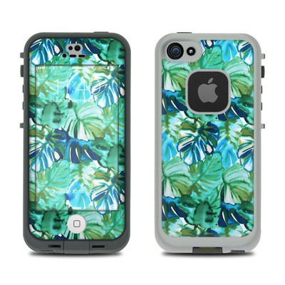 Lifeproof iPhone 5S Fre Case Skin - Jungle Palm