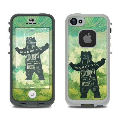 Lifeproof iPhone 5S Fre Case Skin - What Doesnt Kill You
