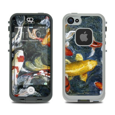 LifeProof iPhone 5S Fre Case Skin - Koi's Happiness