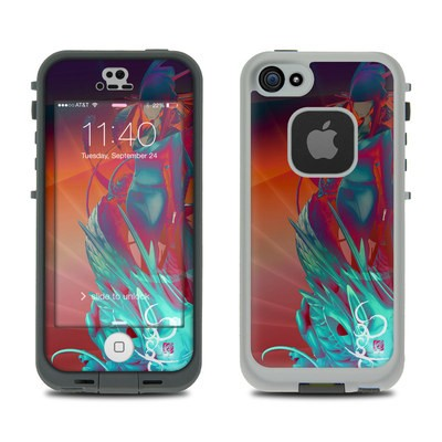 Lifeproof iPhone 5S Fre Case Skin - Kokeshi 3