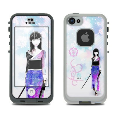 Lifeproof iPhone 5S Fre Case Skin - Kokeshi Haru