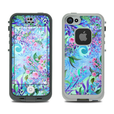 LifeProof iPhone 5S Fre Case Skin - Lavender Flowers