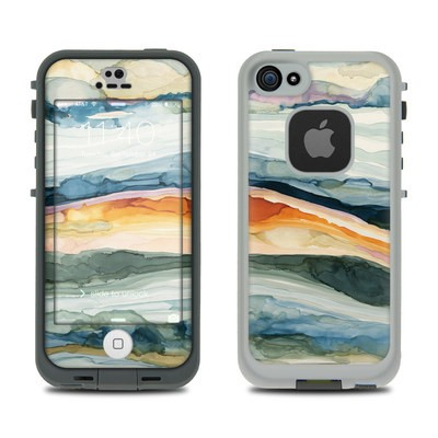 Lifeproof iPhone 5S Fre Case Skin - Layered Earth