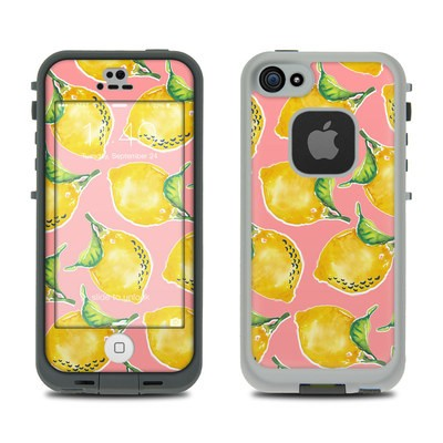 Lifeproof iPhone 5S Fre Case Skin - Lemon