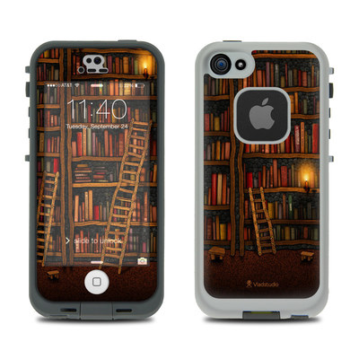 LifeProof iPhone 5S Fre Case Skin - Library