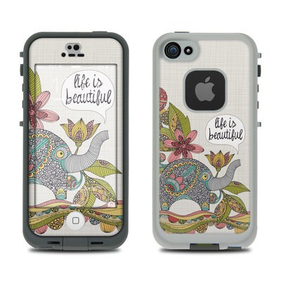 Lifeproof iPhone 5S Fre Case Skin - Life is Beautiful