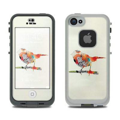 LifeProof iPhone 5S Fre Case Skin - Little Bird