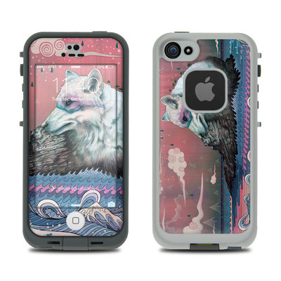 LifeProof iPhone 5S Fre Case Skin - Lone Wolf