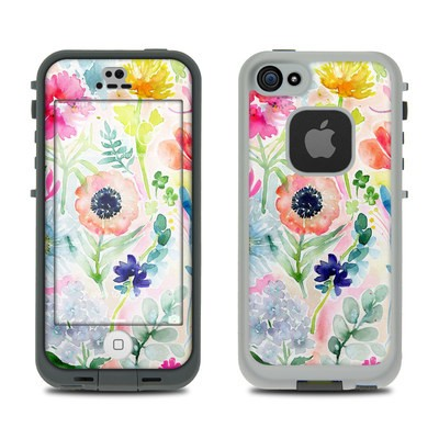 Lifeproof iPhone 5S Fre Case Skin - Loose Flowers