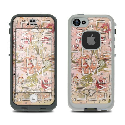 Lifeproof iPhone 5S Fre Case Skin - Love Floral