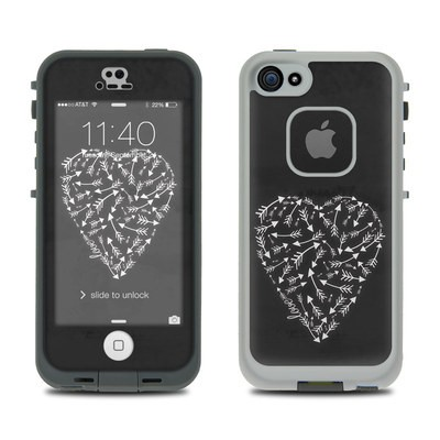 Lifeproof iPhone 5S Fre Case Skin - Love Me Not