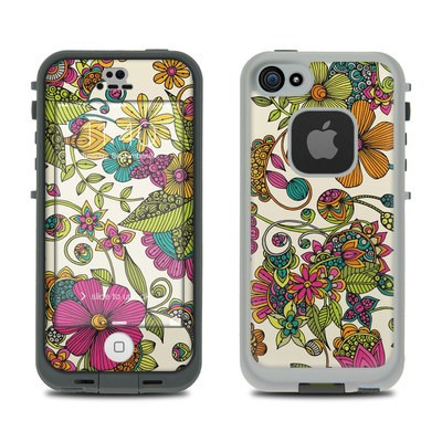 Lifeproof iPhone 5S Fre Case Skin - Maia Flowers