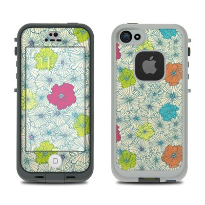 LifeProof iPhone 5S Fre Case Skin - May Flowers