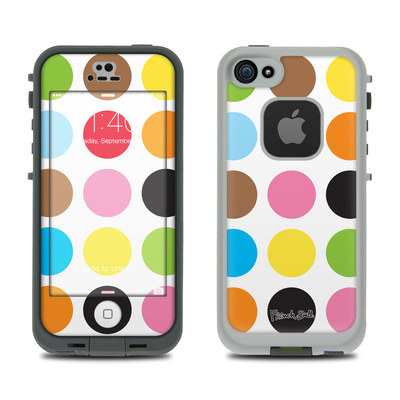 LifeProof iPhone 5S Fre Case Skin - Multidot
