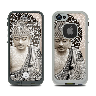 LifeProof iPhone 5S Fre Case Skin - Meditation Mehndi