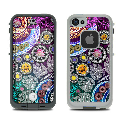 LifeProof iPhone 5S Fre Case Skin - Mehndi Garden
