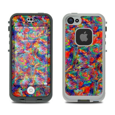 Lifeproof iPhone 5S Fre Case Skin - Melted