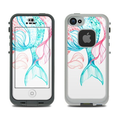 Lifeproof iPhone 5S Fre Case Skin - Mermaid Tails