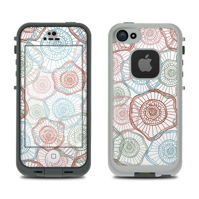 LifeProof iPhone 5S Fre Case Skin - Micro Flowers