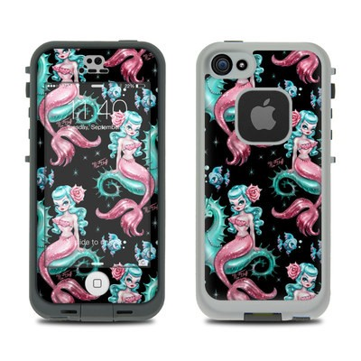 Lifeproof iPhone 5S Fre Case Skin - Mysterious Mermaids