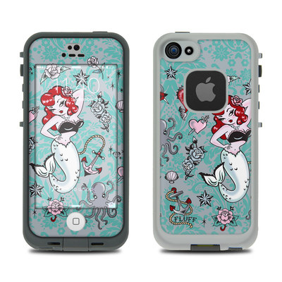 LifeProof iPhone 5S Fre Case Skin - Molly Mermaid
