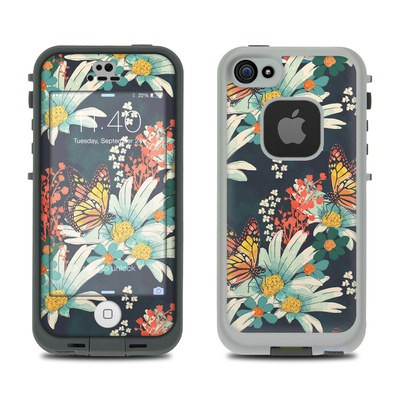 LifeProof iPhone 5S Fre Case Skin - Monarch Grove