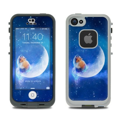 LifeProof iPhone 5S Fre Case Skin - Moon Fox