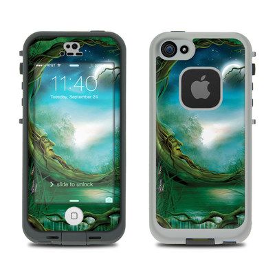 LifeProof iPhone 5S Fre Case Skin - Moon Tree