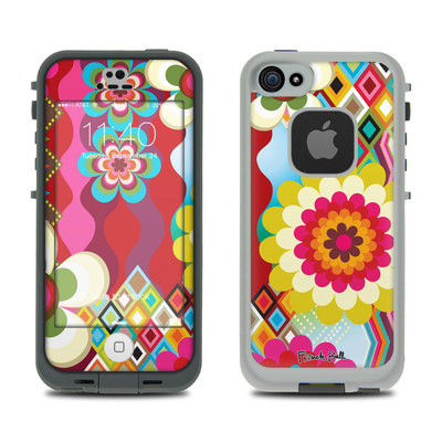 LifeProof iPhone 5S Fre Case Skin - Mosaic