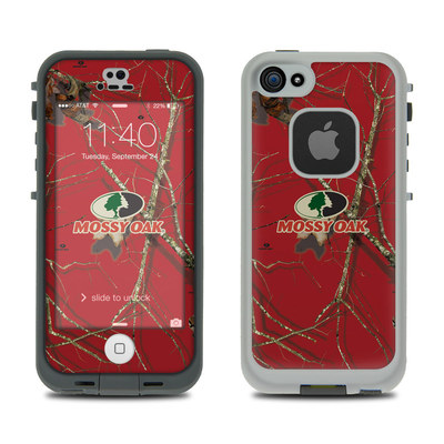 LifeProof iPhone 5S Fre Case Skin - Break-Up Lifestyles Red Oak