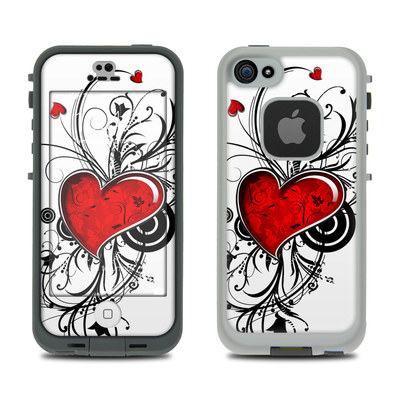 LifeProof iPhone 5S Fre Case Skin - My Heart