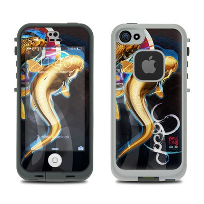Lifeproof iPhone 5S Fre Case Skin - Namazu and Koi