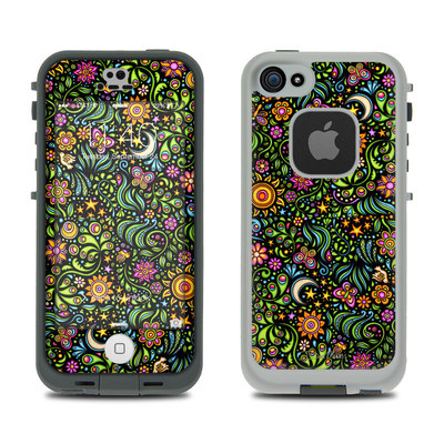 LifeProof iPhone 5S Fre Case Skin - Nature Ditzy