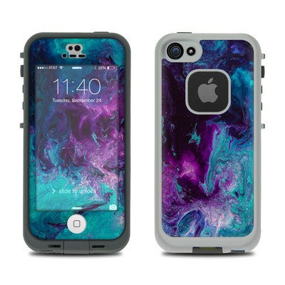 Lifeproof iPhone 5S Fre Case Skin - Nebulosity