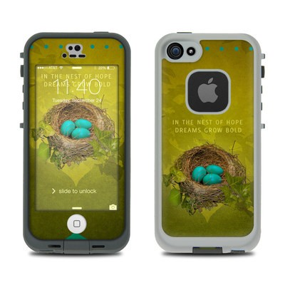 Lifeproof iPhone 5S Fre Case Skin - Nest of Hope