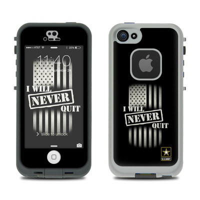 LifeProof iPhone 5S Fre Case Skin - Never Quit