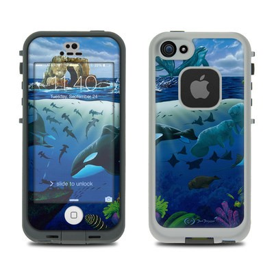 LifeProof iPhone 5S Fre Case Skin - Oceans For Youth