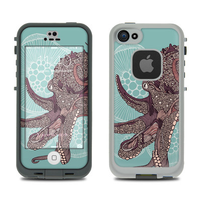 LifeProof iPhone 5S Fre Case Skin - Octopus Bloom