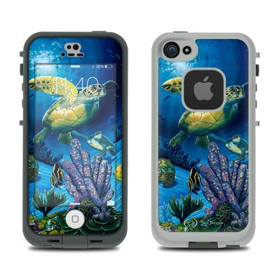 LifeProof iPhone 5S Fre Case Skin - Ocean Fest