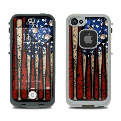 LifeProof iPhone 5S Fre Case Skin - Old Glory