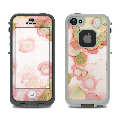 Lifeproof iPhone 5S Fre Case Skin - Organic In Pink