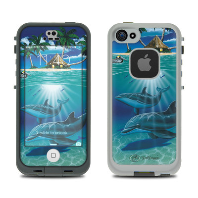 LifeProof iPhone 5S Fre Case Skin - Ocean Serenity