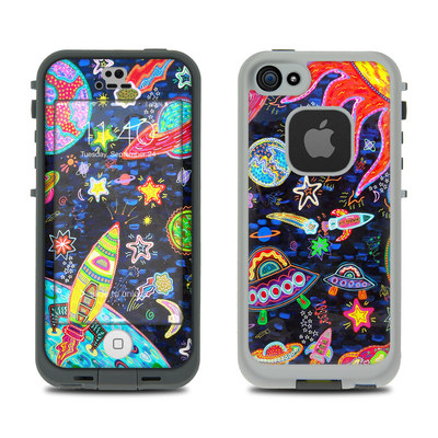 LifeProof iPhone 5S Fre Case Skin - Out to Space