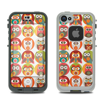 LifeProof iPhone 5S Fre Case Skin - Owls Family