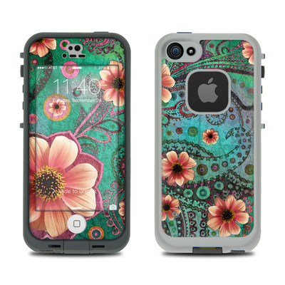 LifeProof iPhone 5S Fre Case Skin - Paisley Paradise
